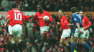 Andy Cole Manchester United Ipswich Town Premier League 04031995