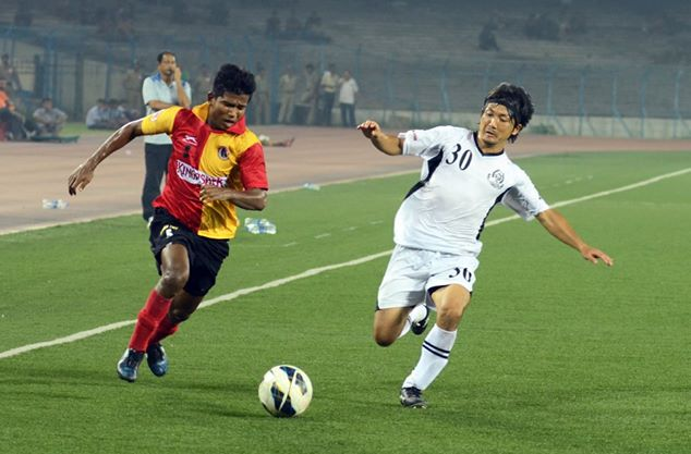 Abhishek Das Mohammedan Sporting vs East Bengal FC I-League