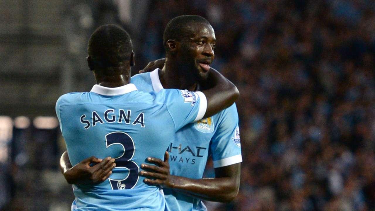 Bacary Sagna; Yaya Toure Manchester City