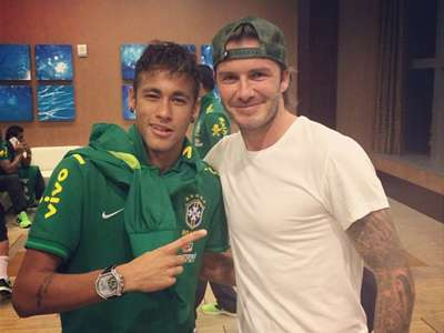 Neymar Beckham Instagram