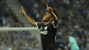 Willian Porto Chelsea Champions League 29092015