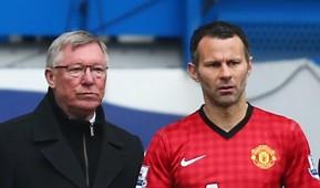 Sir Alex Ferguson & Ryan Giggs - Manchester United