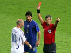 Horacio Elizondo - Zinedine Zidane - Red Card - World Cup 2006