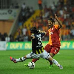 Hamit Altıntop (Galatasaray) - Hasan Ali Kaldırım (Fenerbahçe)