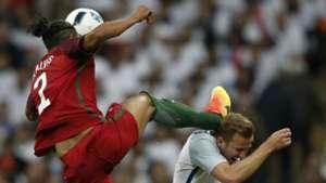 Bruno Alves and Harry Kane England v Portugal 02061