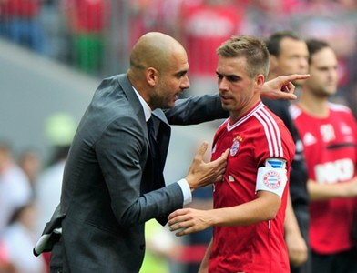Philipp Lahm Pep Guardiola