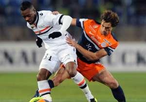 Benjamin Stambouli Cheick Doukoure Montpellier Lorient Ligue 1 12042013