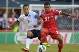 Clint Dempsey, USA, United States; Amilcar Henriquez, Panama