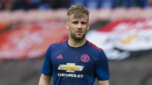 Luke Shaw Manchester United Pre-Season