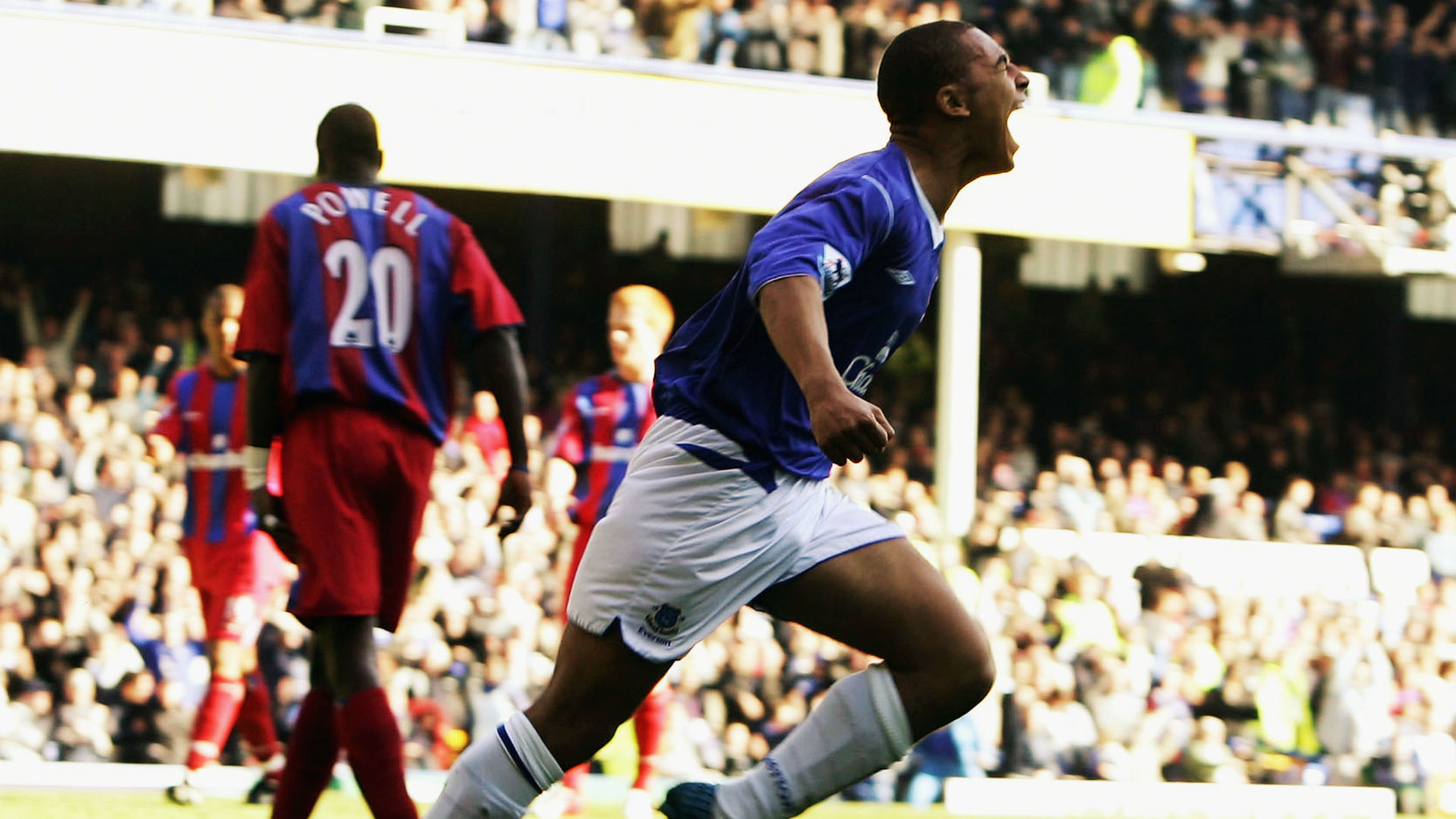 James Vaughan Everton v Crystal Palace