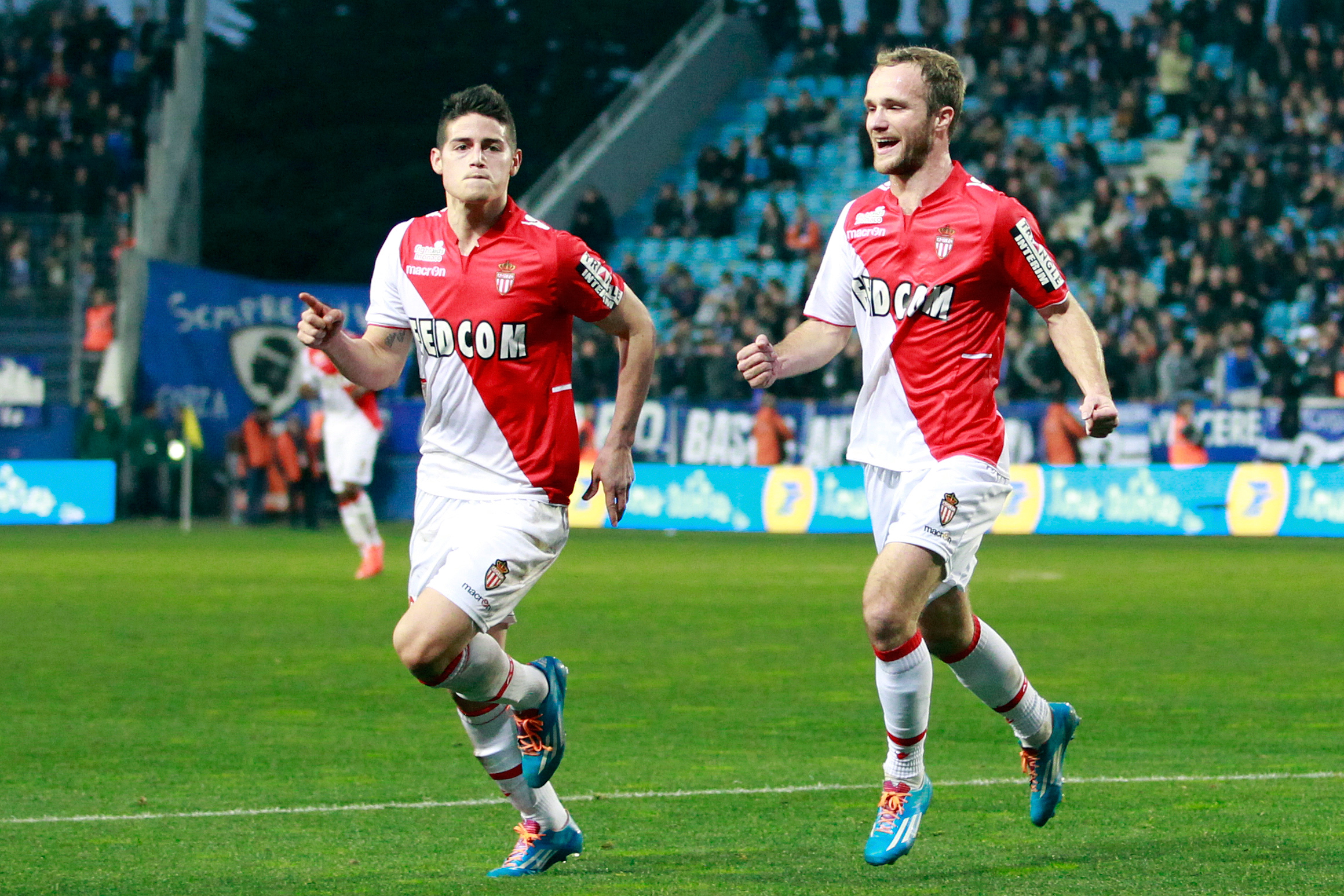 Monaco attacking midfielder James Rodriguez