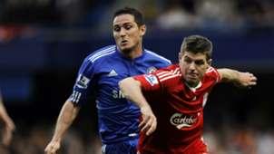 Frank Lampard Steven Gerrard Liverpool Chelsea