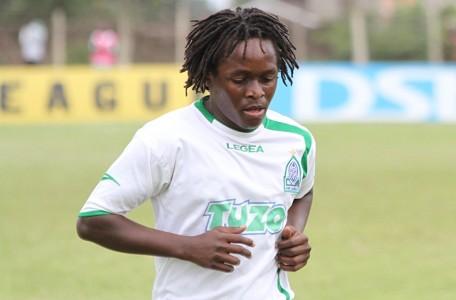 Gor Mahia midfielder Innocent Babu Mutiso in a past league match.
