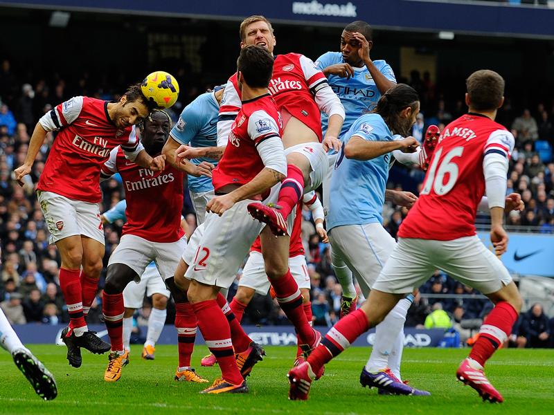 Manchester City vs Arsenal - 14122013