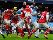 Manchester City vs Arsenal - 14122013
