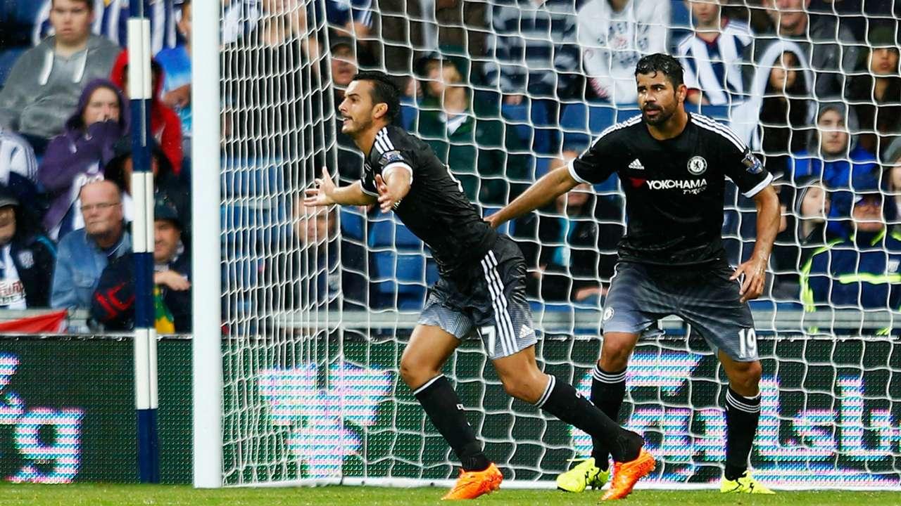 Pedro Diego Costa Chelsea Premier League 23082015