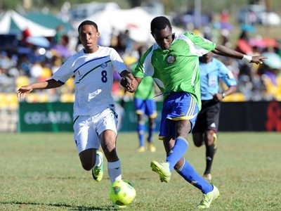 Kenya U-20 in action.