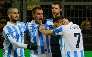 UEFA, Champions League, Borussia Dortmund vs. FC Malaga, Joaquin