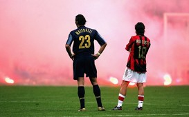 Materazzi & Rui Costa (Inter v Milan)