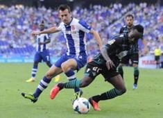 Manolo Lanzarote, Cedrick, Espanyol v Betis - Liga BBVA