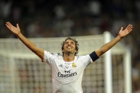 Raúl, Real Madrid v Al Sadd - Trofeo Bernabéu