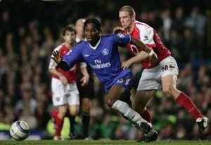 Didier Drogba Chelsea Arsenal 2005