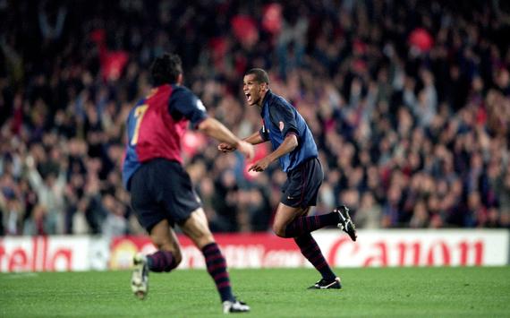 Rivaldo & Luis Figo - Barcelona versus Chelsea