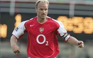 Dennis Bergkamp of Arsenal