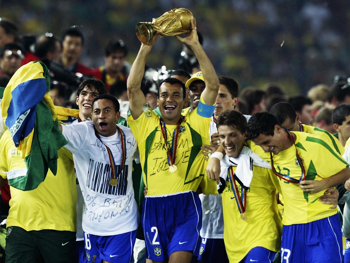 Cafu Brazil World Cup 2002