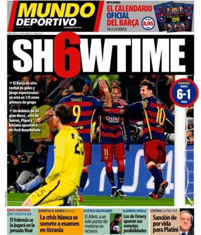 Mundo Deportivo 25112015