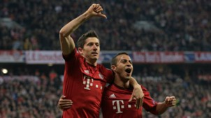 Robert Lewandowski Thiago Bayern Munich Dinamo Zagreb Champions League 29092015