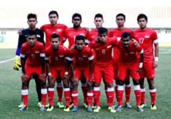 Team photo Singapore U23 SEA Games 12212013