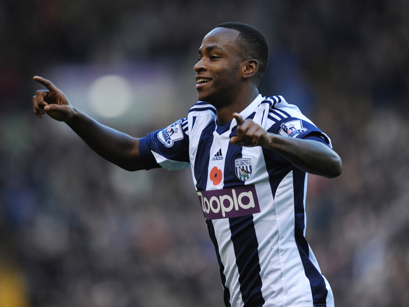 Saido Berahino West Bromwich Albion  Crystal Palace  Premier  League 11022013