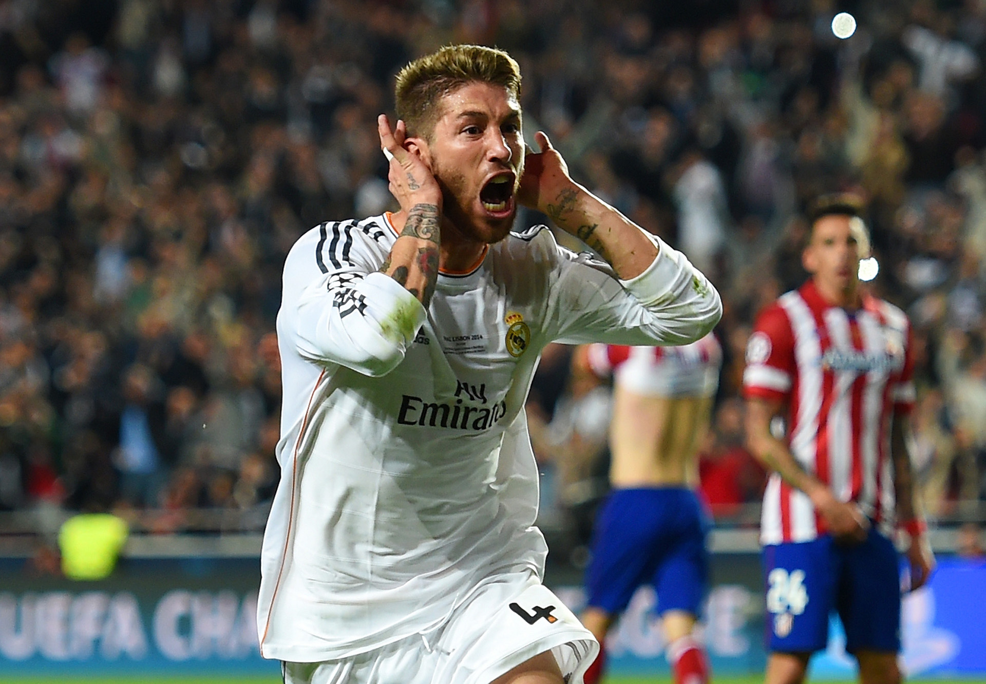 Sergio Ramos Real Madrid Atletico Madrid Champions League final 05242014