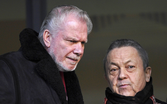 David Gold and David Sullivan