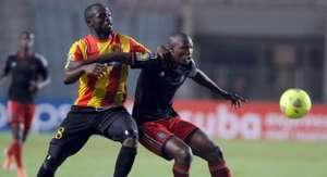 Ayanda Gcaba, Orlando Pirates, Yannick Ndjeng, Esperance, Caf Champions League, 19.10.2013