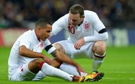 Theo Walcott - Wayne Rooney, England v Brazil - International Friendly