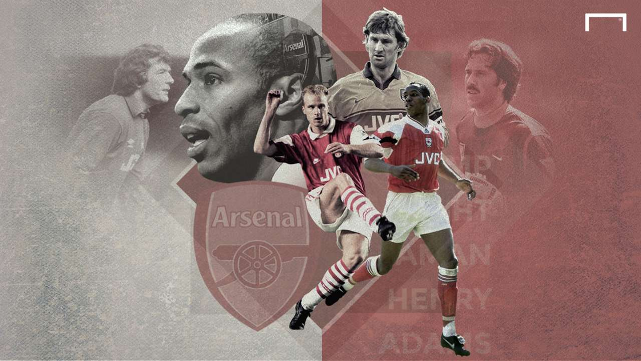 The greatest Arsenal players of all time