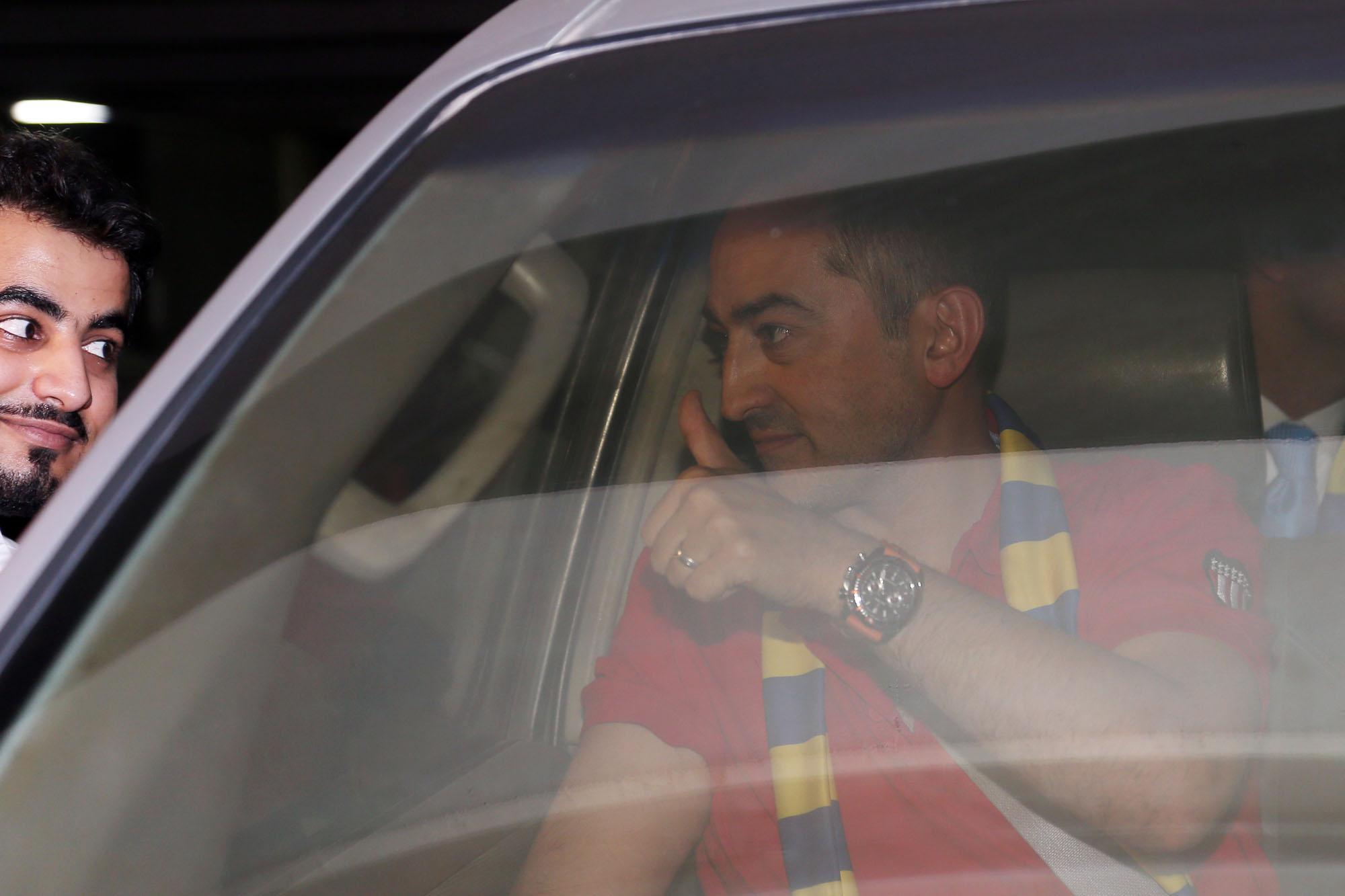 Raul Caneda Al Nasr coach arrivals