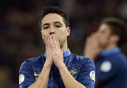 Samir Nasri France Ukraine 2014 World Cup Qualifier 11152013