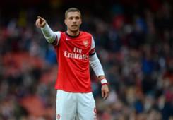 Lukas Podolski Arsenal Premier League