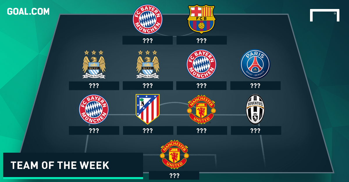 CHAMPIONS LEAGUE TEAM OF MATCHDAY 4 ???