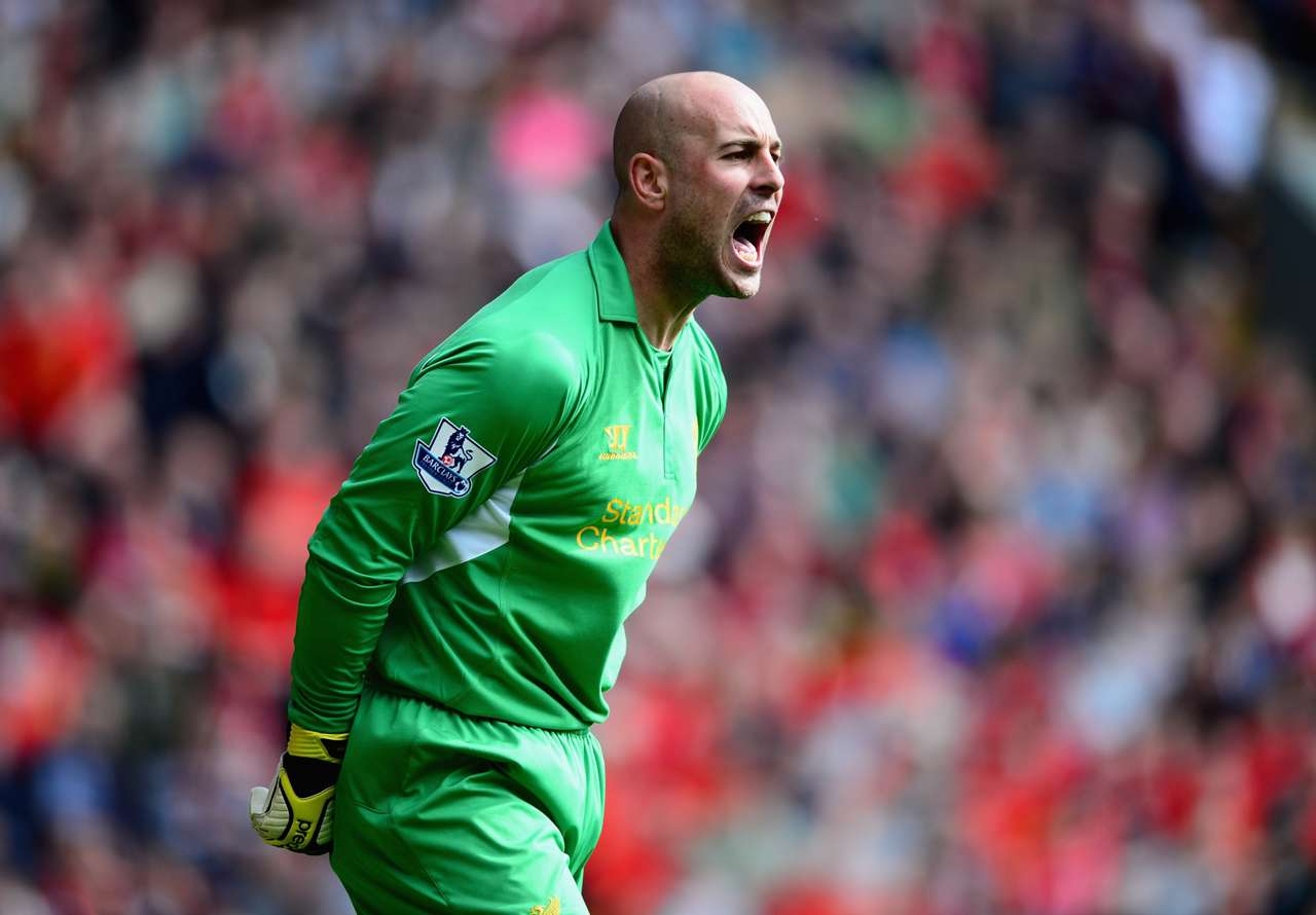 Pepe Reina during his Liverpool days