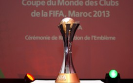 The FIFA Club World Cup 2013 trophy