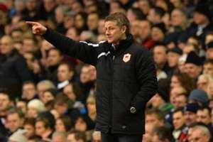 Cardiff City manager Ole Gunnar Solskjær