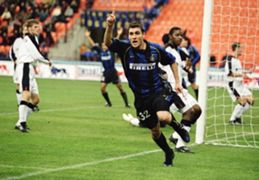Christian Vieri Inter UEFA Cup