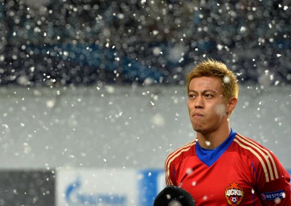 Keisuke Honda CSKA Moscow v Bayern Munich UEFA Champions League 11272013