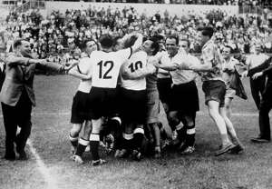 West Germany 1954 World Cup final versus Hungary