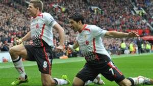 Steven Gerrard & Luis Suarez | 2014