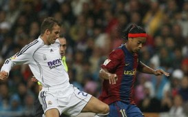 David Beckham at Real Madrid, Ronaldinho at Barcelona
